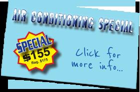 Spring Maintenance Special!!! $135 (Regular Price $175)